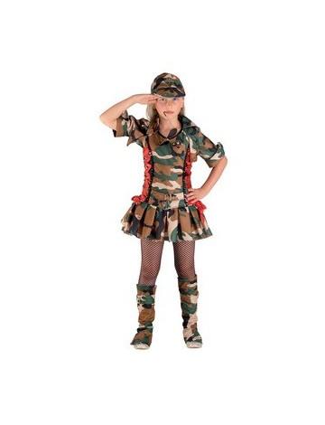 FANCY SOLDIER GIRL παιδική στολή