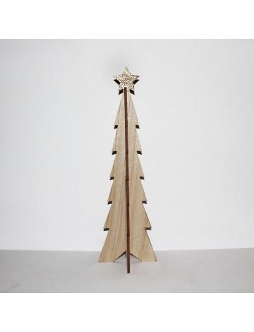 Δέντρο ξύλινο 10,5x10,5x34 εκ