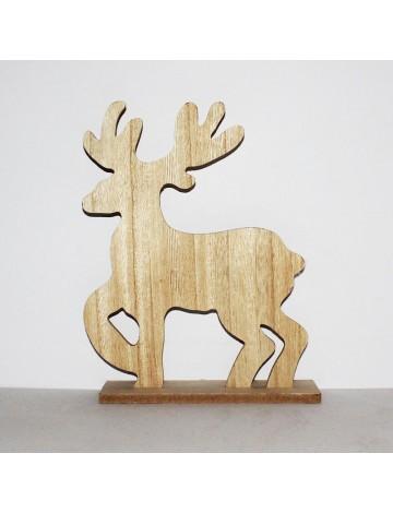 Τάρανδος ξύλινος 22x7x30cm