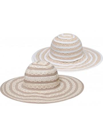 Καπέλο ψάθινο γυναικείο ΚΩΔ.8679