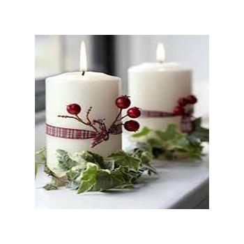 Χριστουγεννιάτικα Κεριά